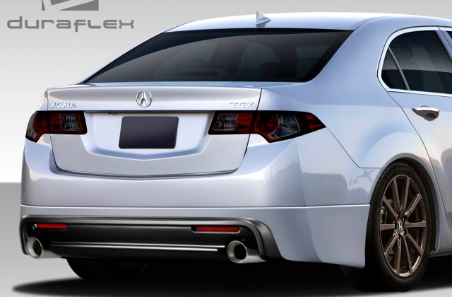 2010 Acura Tsx Rear Lip Add On Body Kit 2009 2014 - Medium