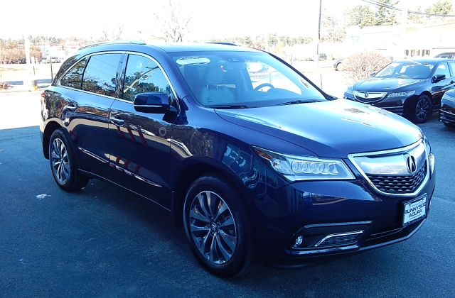 certified pre owned 2014 acura mdx 3 5l v6 suv in nashua 2280a sunnyside - medium