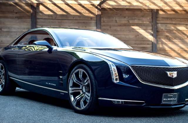 Black Cadillac Coupe Hd Wallpaper Flare Cts - Medium