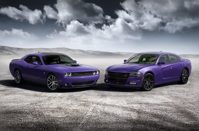 2016 Dodge Charger Challenger Add Plum Crazy Paint Option Photo Of A - Medium