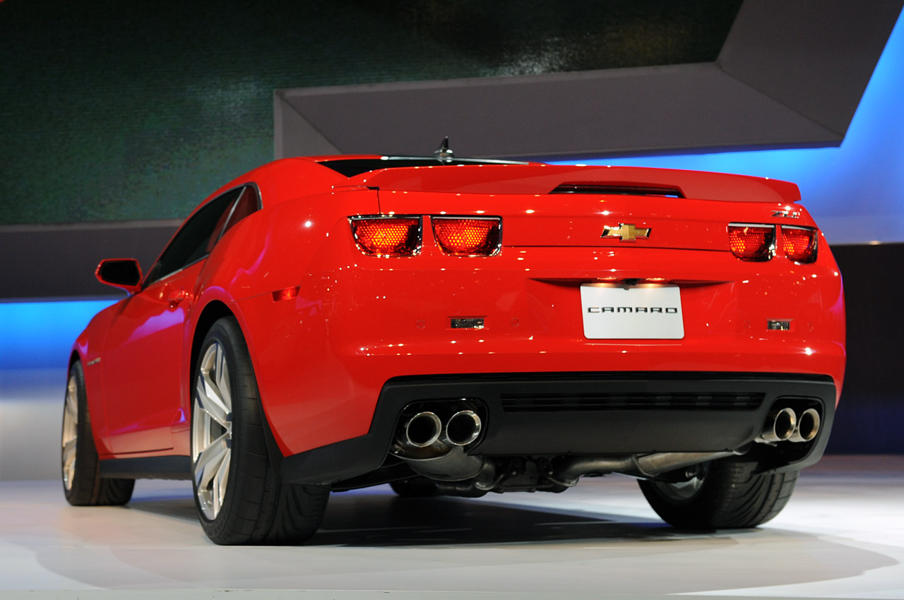 2012 Chevrolet Camaro Zl1 Photo - Medium