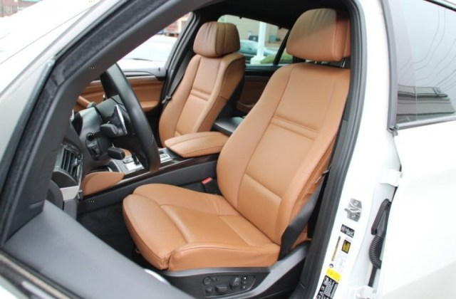 Saddle brown interior 2013 bmw x6 xdrive35i photo - medium