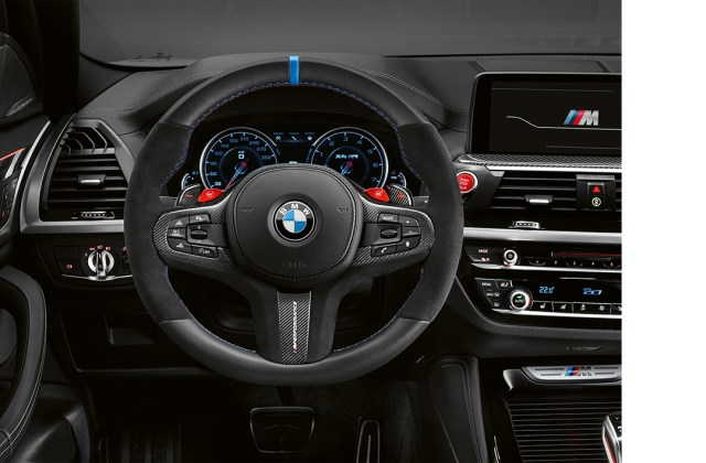 Bmw M Performance Parts For The X3 And X4 Interior Pictures - Medium