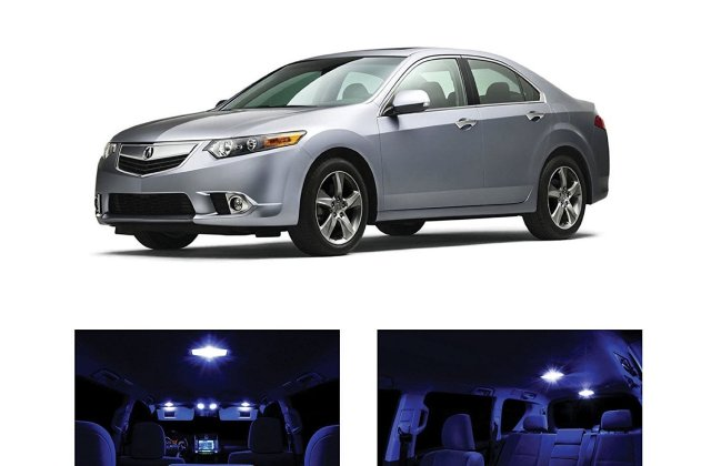 Xtremevision Led For Acura Tsx 2009 2014 12 Pieces Pure White Premium Interior Kit Package Installation Tool - Medium