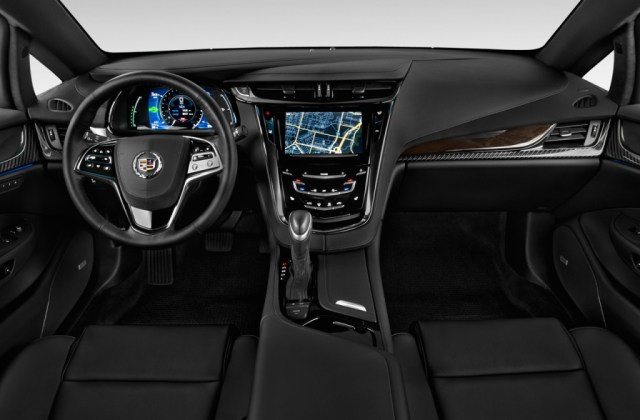 Image 2014 Cadillac Elr 2 Door Coupe Dashboard Size Electric Commercial - Medium