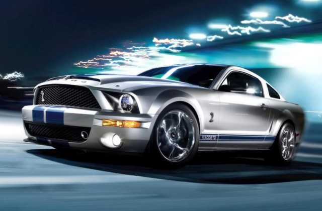 Silver And Black Ford Wallpaper 9 Free Mustang Htc - Medium