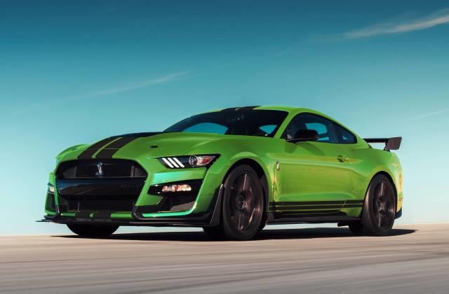 2020 Ford Mustang Shelby Gt500 Grabber Lime News And Information Wallpaper 1967 - Medium