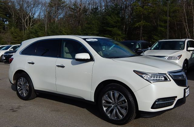 certified pre owned 2014 acura mdx 3 5l v6 with technology package suv in nashua 2039a - medium