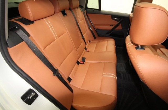 Saddle Brown Interior 2007 Bmw X3 3 0si Photo 59883486 - Medium