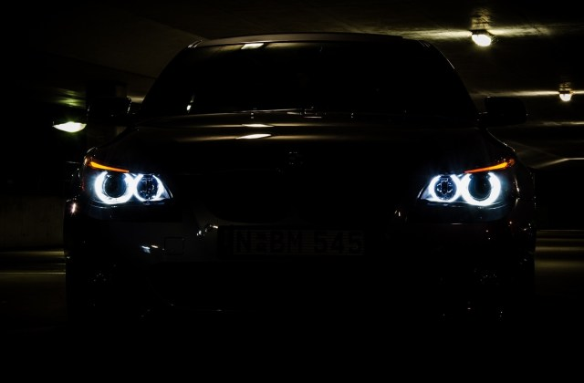 Bmw Lights Cars Vehicles 5 Series E60 Automobile Wallpaper High Resolution - Medium