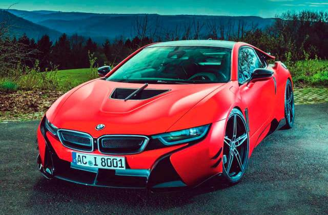 2017 Bmw I8 Carbon Clad Version Ac Schnitzer Acs8 Road Test - Medium