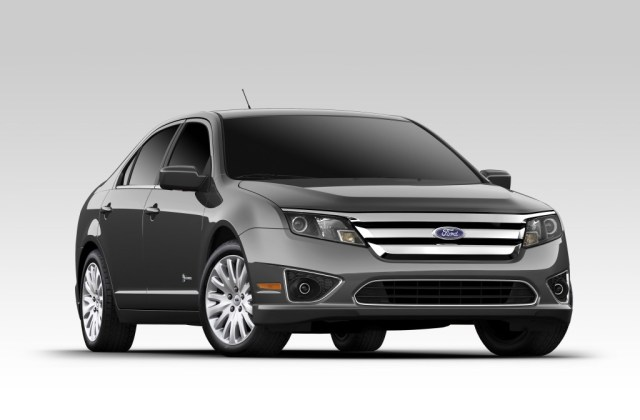 2012 Ford Fusion Hybrid Pictures Photos Gallery Green Photo Of A - Medium