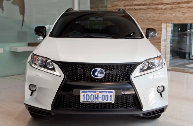photo gallery blacked out lexus rx 450h f sport 2013 350 - medium
