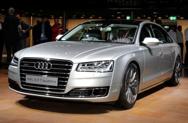New Audi A8 2015 Luxury Car Wallpaper Hd Wallpapers - Medium