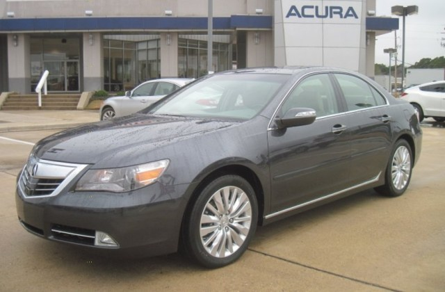 2011 Graphite Luster Metallic Acura Rl Sh Awd Advance - Medium