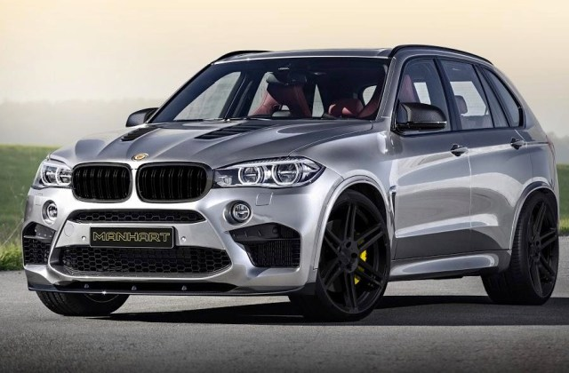 Manhart Previews Monster Mhx5 750 Tune For New Bmw X5 M Performance Package - Medium