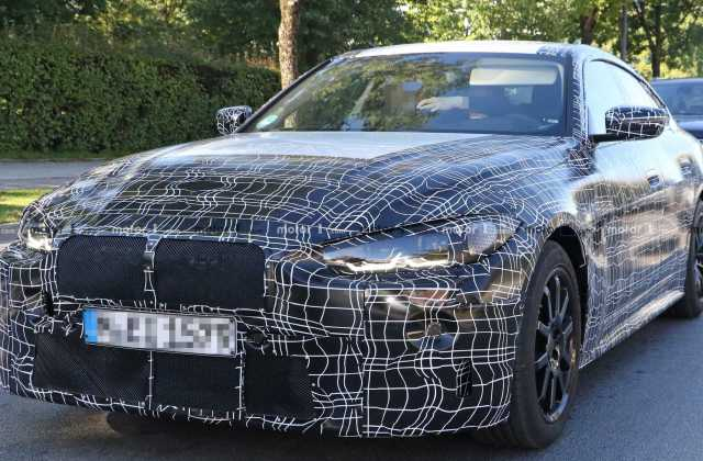 New Bmw 4 Series Gran Coupe Spied For The First Time Update Hd Wallpapers - Medium