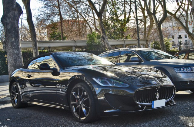 Maserati Grancabrio Sport 2013 23 January 2014 Autogespot - Medium