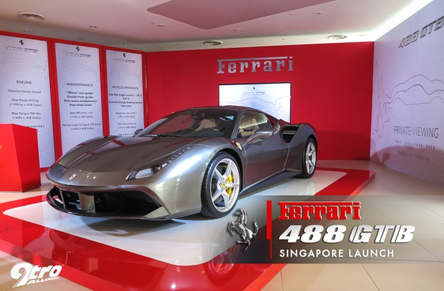 Ferrari 488 Gtb Singapore Launch 9tro Aerodynamics - Medium