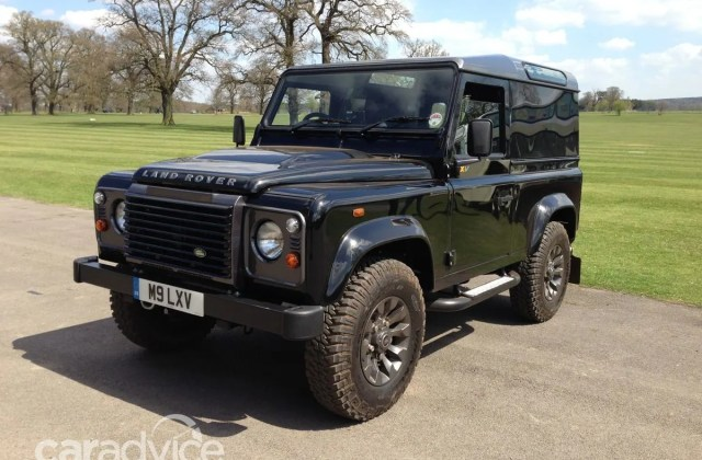 land rover defender lxv review quick drive caradvice 2013 special edition - medium