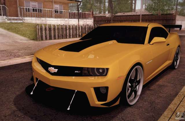 Chevrolet Camaro Zl1 For Gta San Andreas Photo - Medium