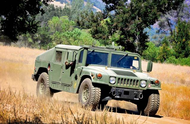 High Mobility Multipurpose Wheeled Vehicle Hmmwv 2014 Vehicles - Medium