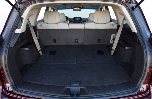 2012 Acura Mdx Reviews And Rating Motor Trend Seats - Medium