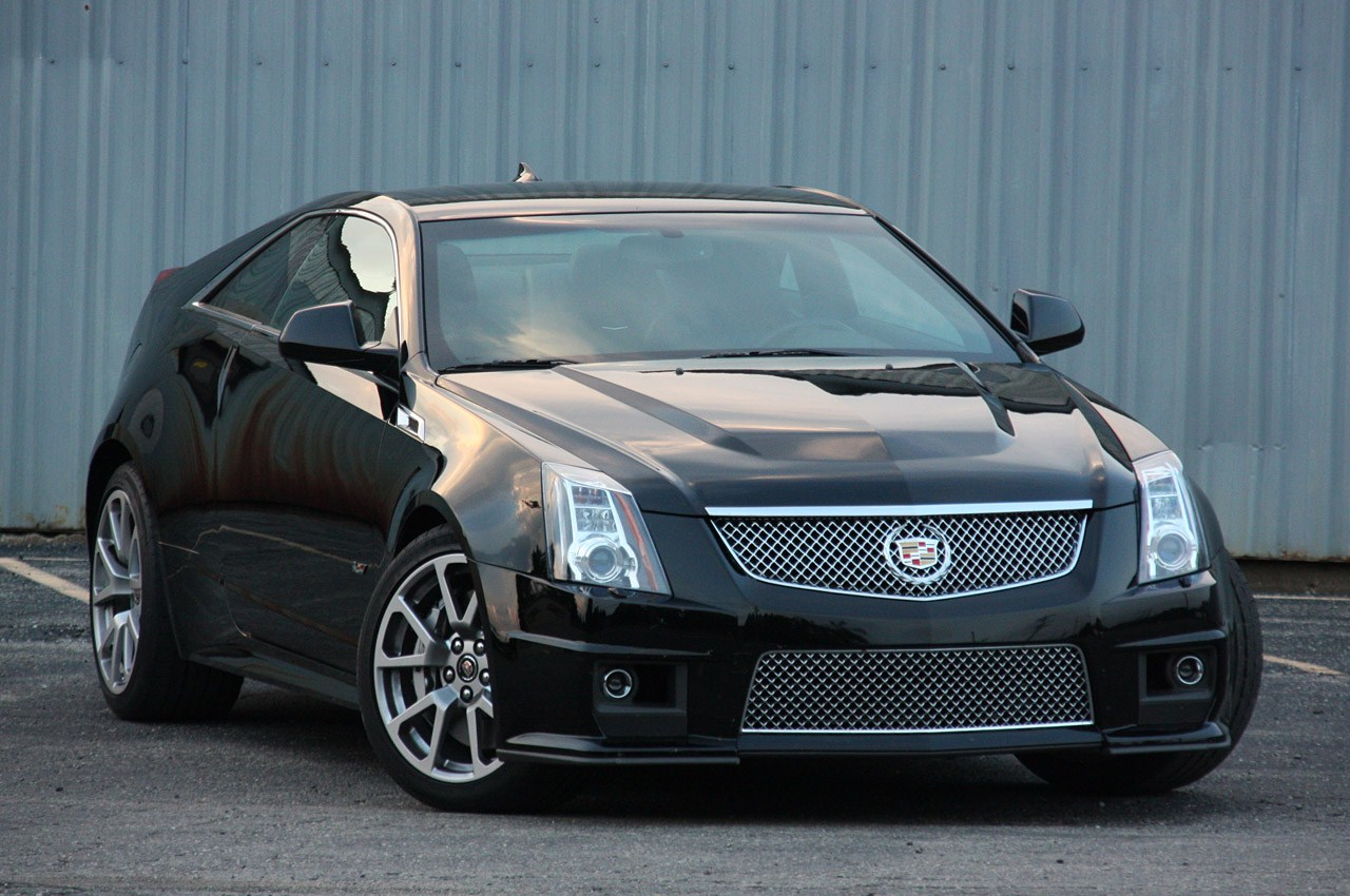 2014 Cadillac Cts Coupe Car Review Wallpaper Hd - Medium