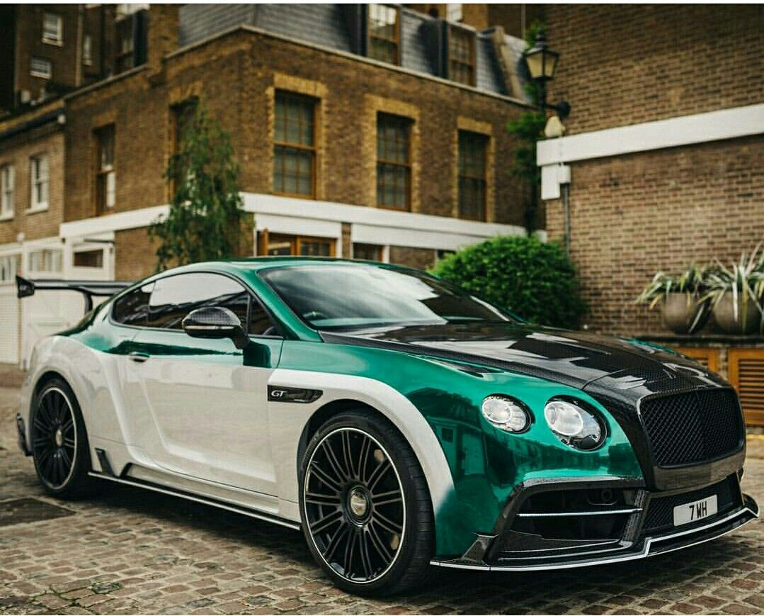 Bentley Continental Gt Modified By Mansory Coches 2012 Gtc Le Ii - Medium