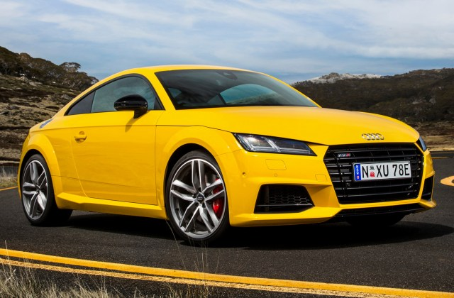 2015 Audi Tts Coupe Au Wallpapers And Hd Images Car Wallpaper - Medium