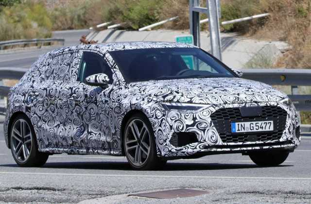 2021 Audi S3 Sportback Spied Looking Ready To Lose Camouflage 8v Wallpaper - Medium