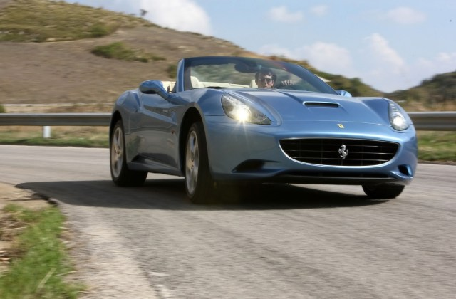 ferrari california front angle speed wallpapers wallpaper iphone - medium
