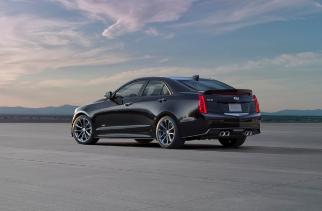 2016 Cadillac Ats V Sedan Info Specs Pictures Wiki Gm Cts Wallpapers - Medium