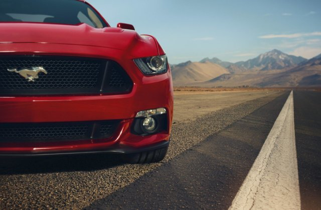Ford Mustang Gt Red Front Muscle Car Hd Cars 4k Wallpapers Wallpaper - Medium