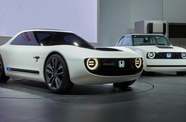 Honda Brings Electric Sports Car Concept To Tokyo Motor Show Vehicle - Medium