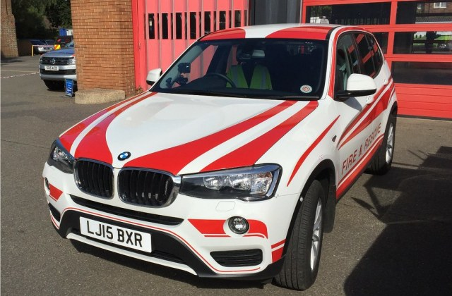Surrey Fire And Rescue Service Bmw X3 F25 An Photo - medium
