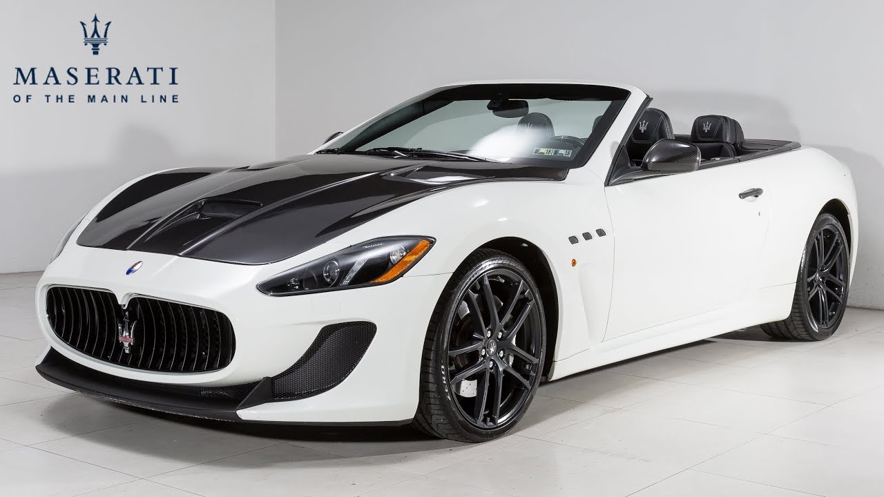 2013 Maserati Granturismo Mc Sport At Of The Main Line Grancabrio - Medium