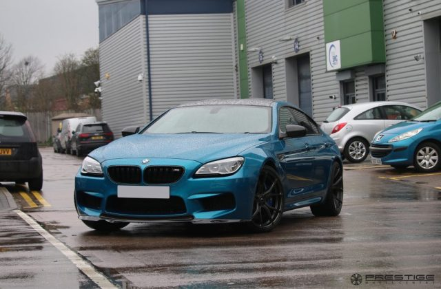Bmw m6 gran coupe comes in for full vorsteiner styling - medium