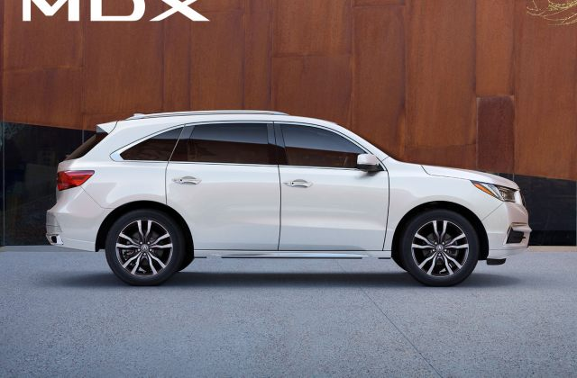 2019 acura mdx luxury third row suv com pre owned - medium