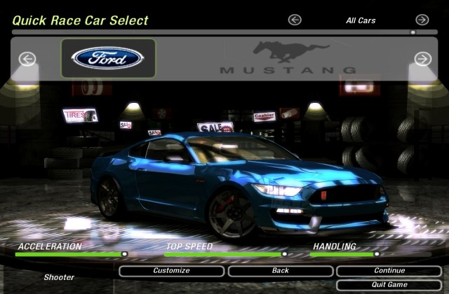 Need For Speed Underground 2 Cars By Ford Nfscars Shelby Gt500 Super Snake - medium