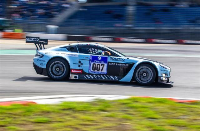 Auction Results And Sales Data For 2012 Aston Martin V12 Vantage Gt3 - Medium