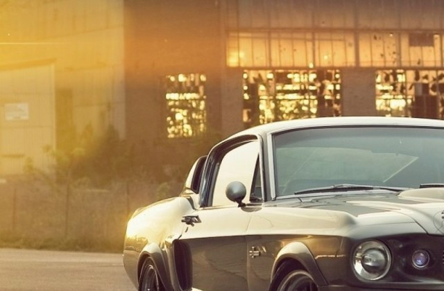 Download 1080x1920 Ford Mustang Eleanor Front View Wallpaper Htc - Medium