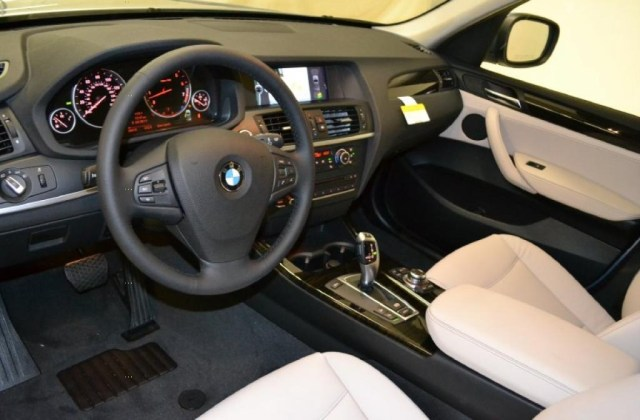 Oyster Nevada Leather Interior 2011 Bmw X3 Xdrive 28i Photo - Medium