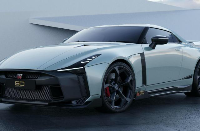 Nissan Gt R50 By Italdesign Limited Edition Unveiled In R Special - medium