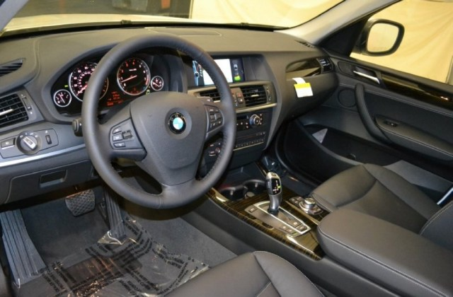 Black Interior 2011 Bmw X3 Xdrive 28i Photo 50676335 - Medium