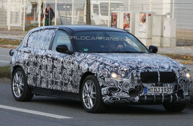 2012 Bmw 1 Series Returns For More Testing Special Editions - Medium