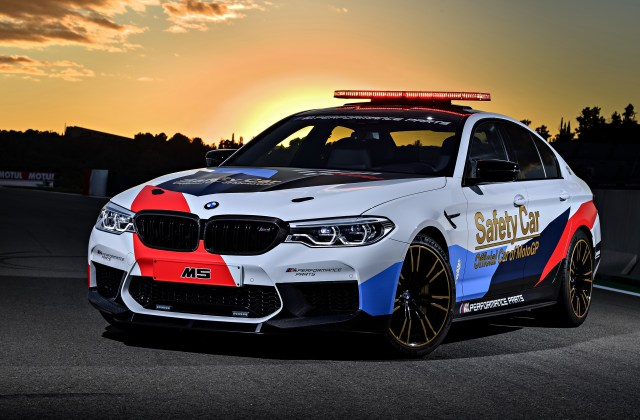 Bmw M5 Motogp Safety Car 2018 4k 2 Wallpaper Hd For Android - Medium
