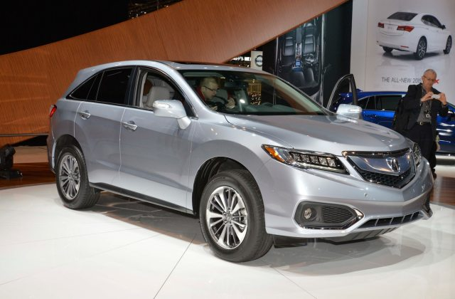 2016 acura rdx first look motor trend reviews - medium