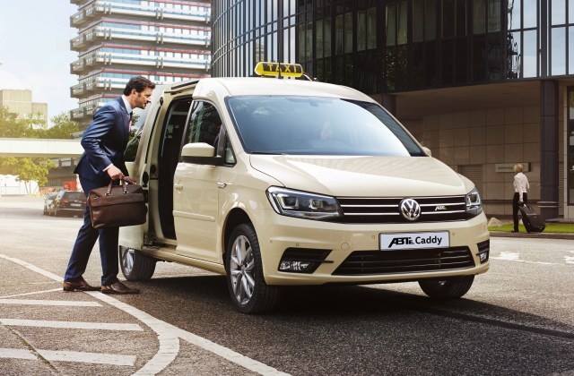 volkswagen transporter caddy go electric with abt caradvice up  - medium