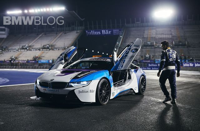 exclusive photos of the refreshed bmw i8 safety car features - medium